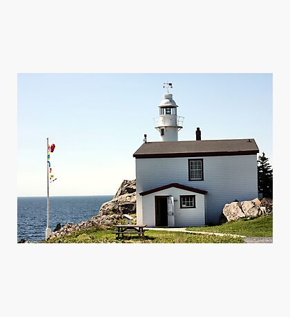 Lobster Cove Head Lighthouse Rocky Harbor Photographic Print