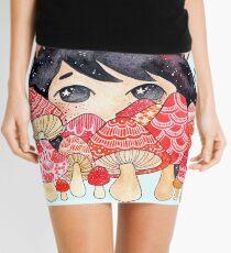 Mushrooms Mini Skirt