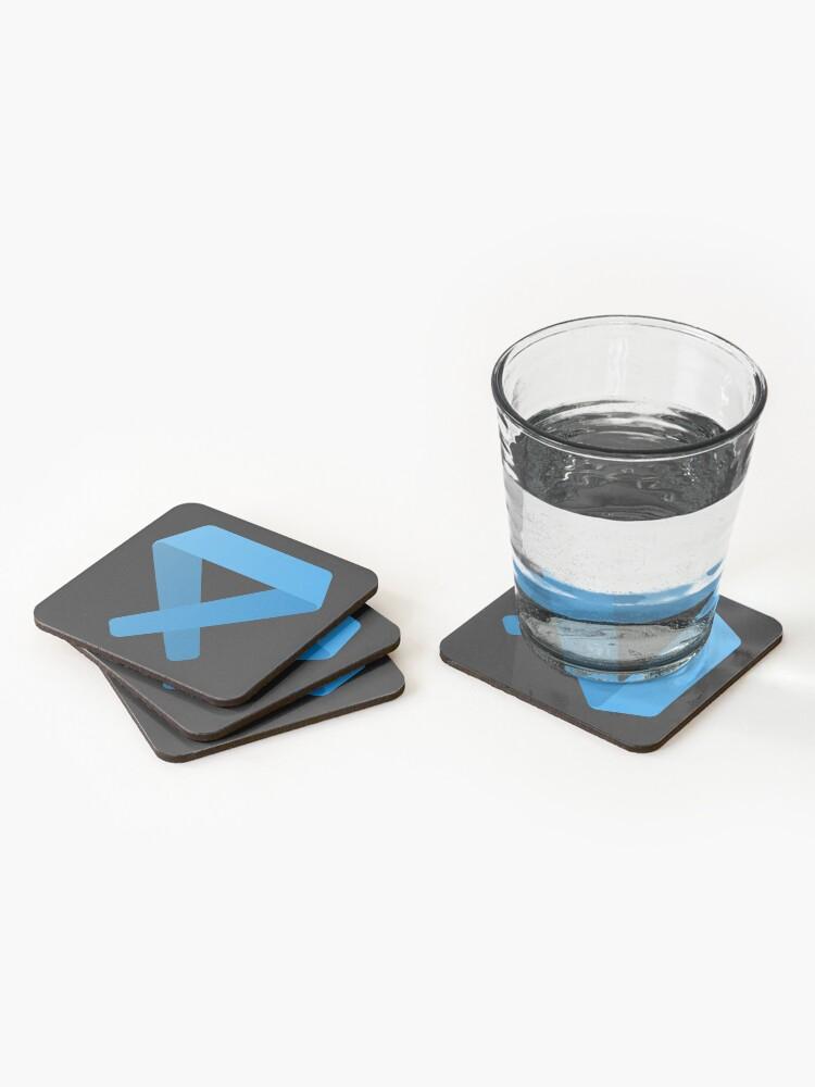 Alternate view of Visual Studio Code Coasters (Set of 4)