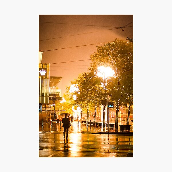 The Crown Casino Fire Photographic Print