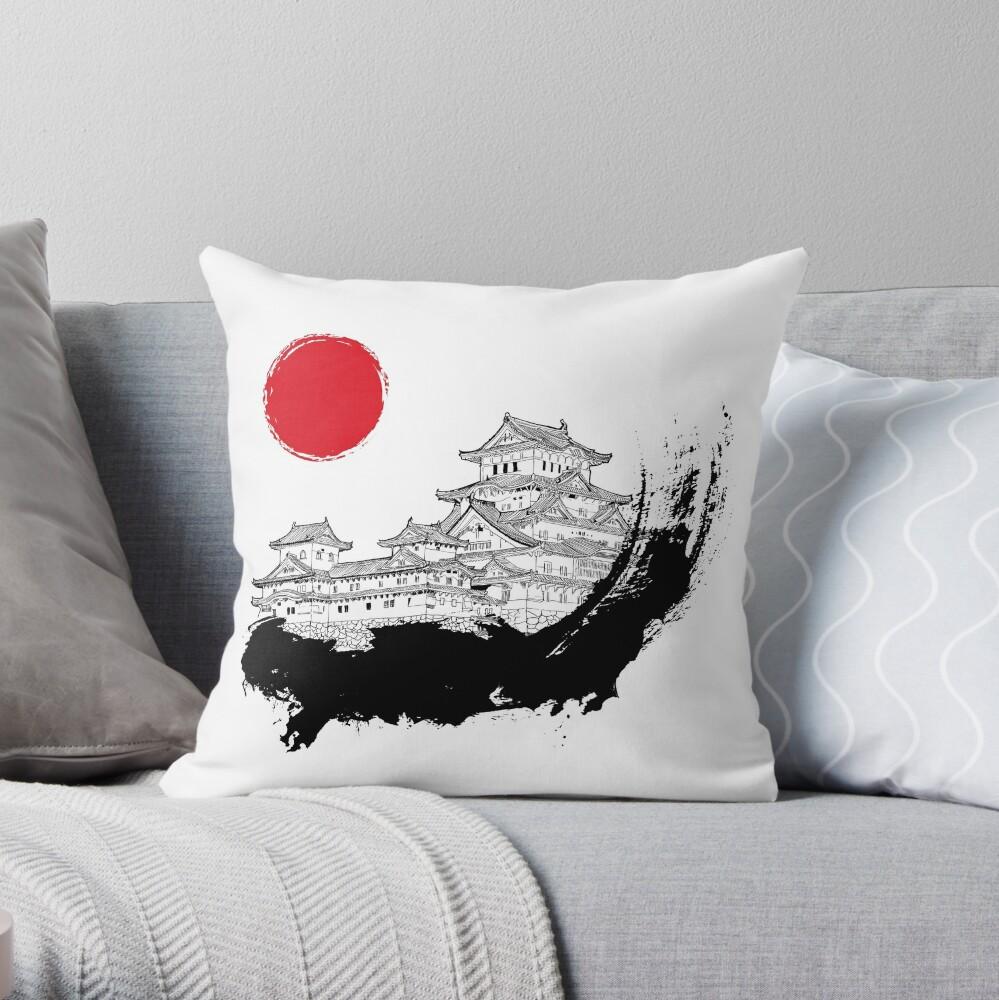 Japanischer Palast Dekokissen