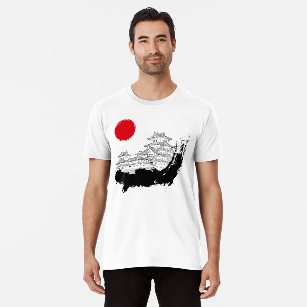 Japanischer Palast Premium T-Shirt