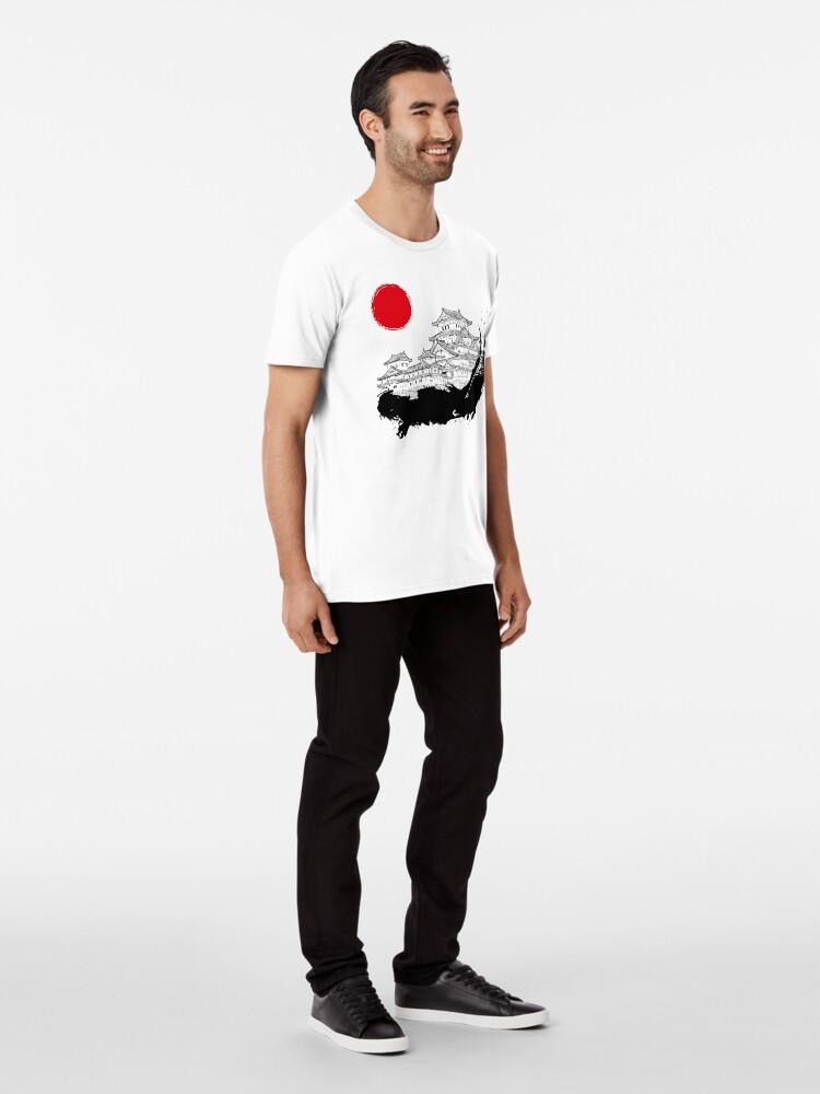 Alternative Ansicht von Japanischer Palast Premium T-Shirt