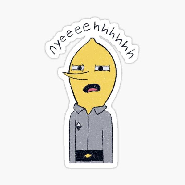 Lemongrab Nyeh  Sticker