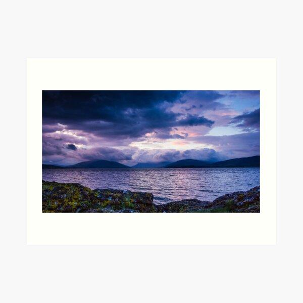 Rothesay Bay view I Art Print