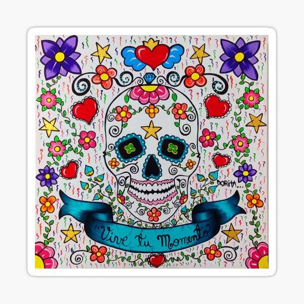 Catrina-Blanca Sticker