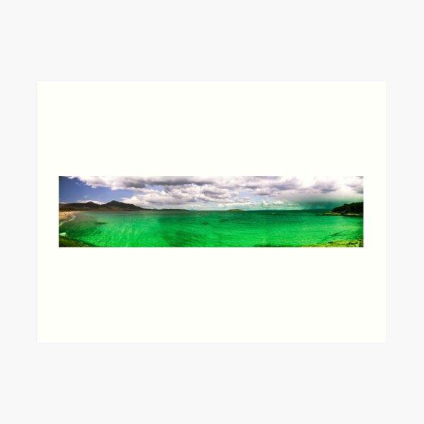 Hazzard Beach Art Print