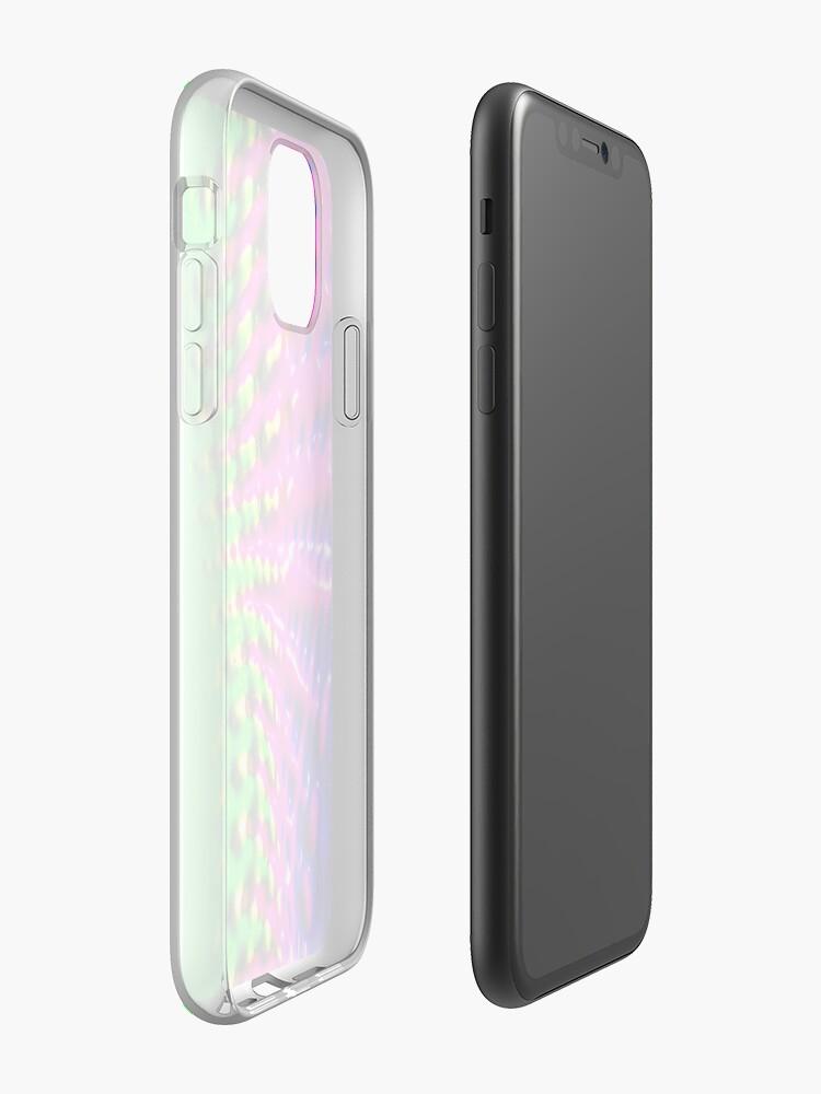 Coque iPhone «Fermeture à glissière fondue», par JLHDesign