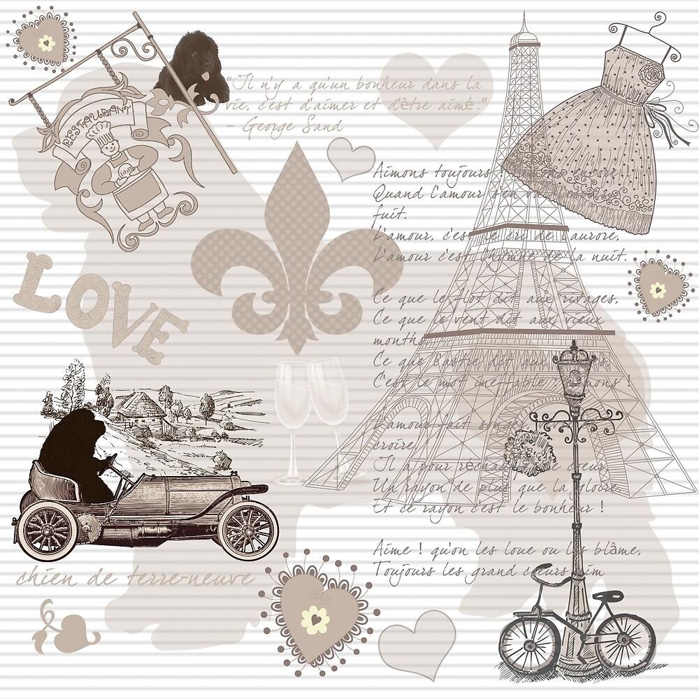 Paris Newfie Patterns by Christine Mullis