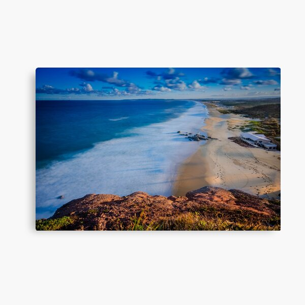 Redhead Beach from the Bluff Canvas Print