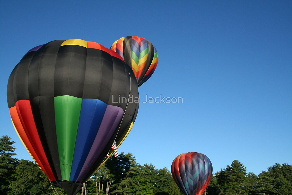 Balloons!  What a wonderful world! by Linda Jackson