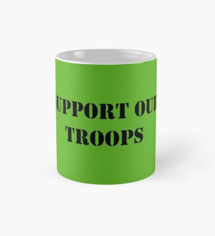 Support Our Troops - July 4th - U.S. Military Mug
