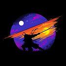 Sunset Samurai by tobiasfonseca