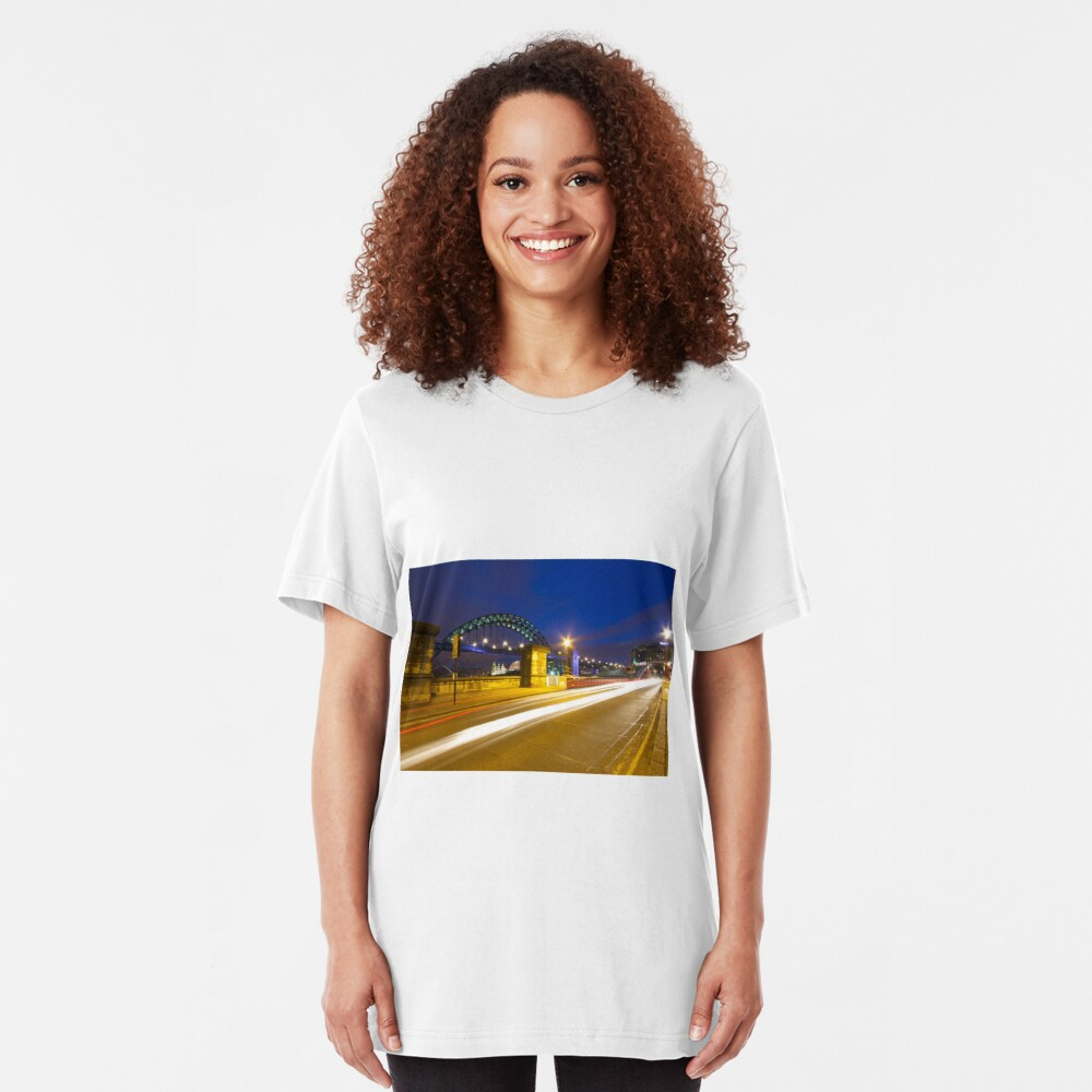 Swing Bridge Headlights Slim Fit T-Shirt