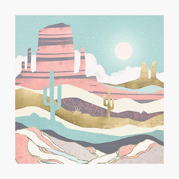 Desert Sun Photographic Print