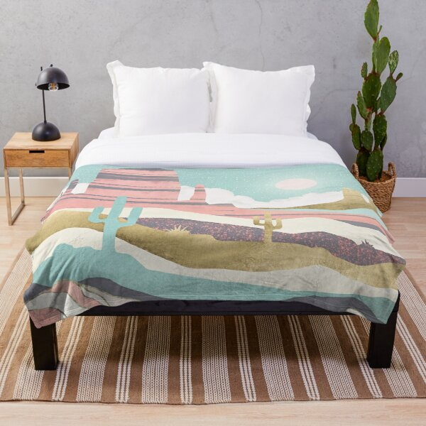 Desert Sun Throw Blanket