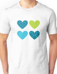 HEARTS QUAD 3 T-Shirt
