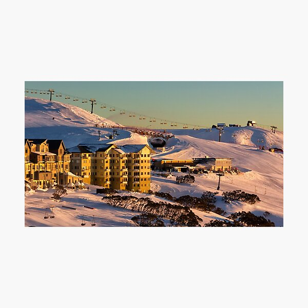 Hotham Central Photographic Print