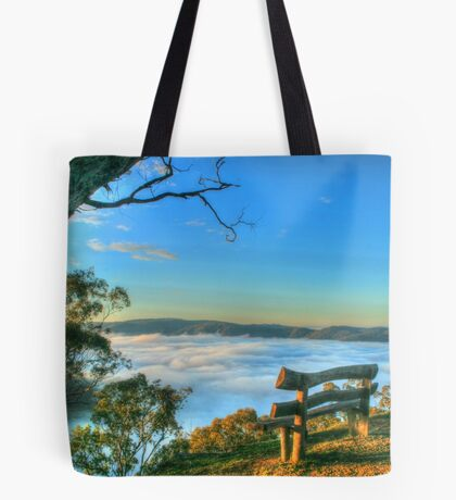 Rest Awhile Amongst The Clouds Tote Bag