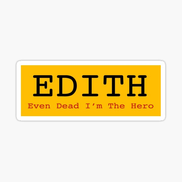 EDITH Sticker