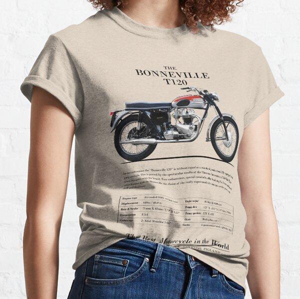 The Bonneville T120 Vintage Advert 1962 Classic T-Shirt