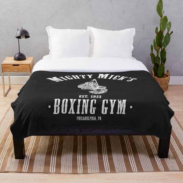 Mighty Micks Boxing Gym Throw Blanket