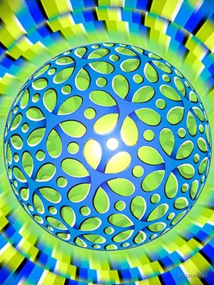 Scintillating #Illusion: #Psychedelic #Orb Appears to #Rotate by znamenski