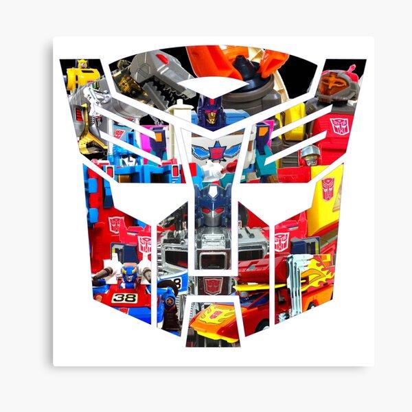 TRANSFORMERS FIGURES!!! Generation 1 Autobot Logo  Canvas Print