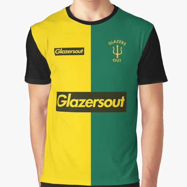 GlazersOut Yellow/Green Manchester Kit (2) Graphic T-Shirt