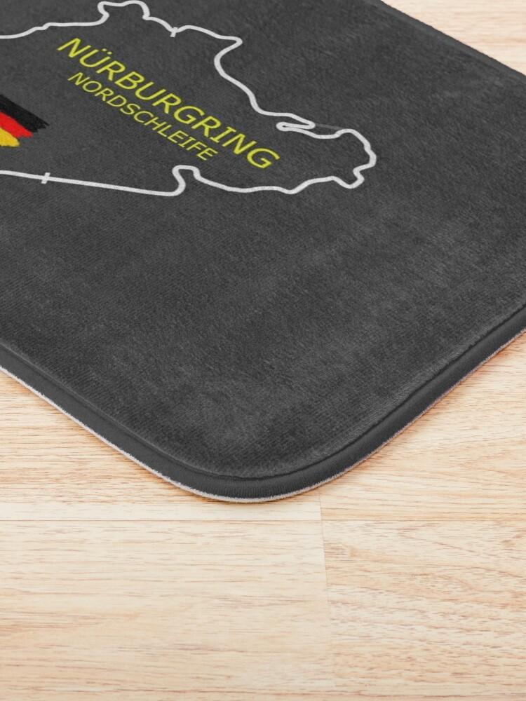 Alternate view of The Nurburgring Bath Mat