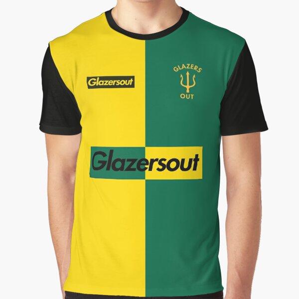 GlazersOut Yellow/Green Manchester Kit (1) Graphic T-Shirt
