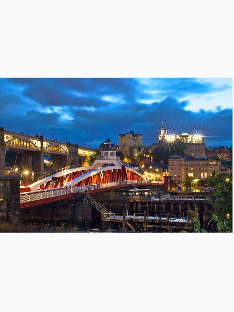 Swing Bridge and Castle Keep, Newcastle upon Tyne by robcole