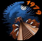 NIGHT RIDES ONLY Beast Wooden Roller Coaster at Kings Island Theme Park by jfells