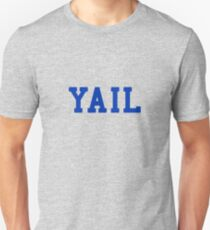 YAIL (blue letters) Slim Fit T-Shirt
