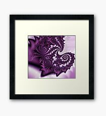 A Layer of Lavander Fairydust Framed Print