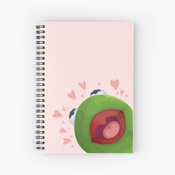 Kermit vous aime! Cahier à spirale