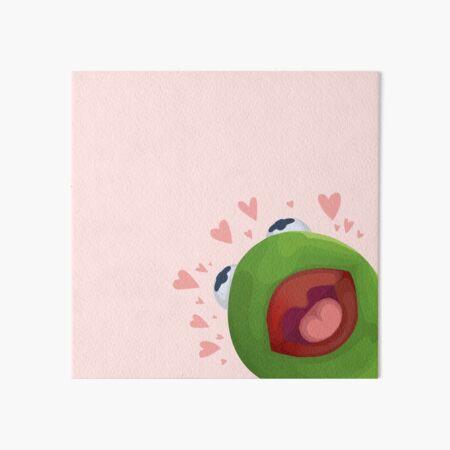 Kermit Loves You! Art Board Print