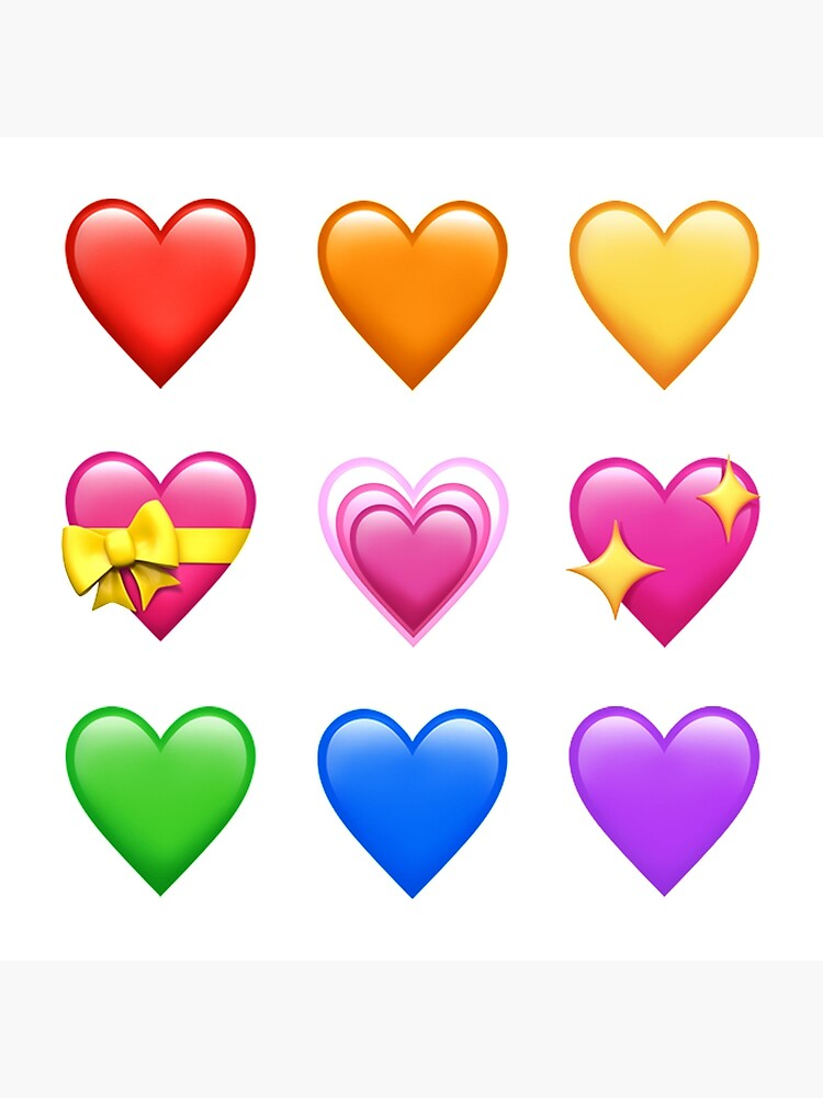 Emoji rotes herz ❤️
