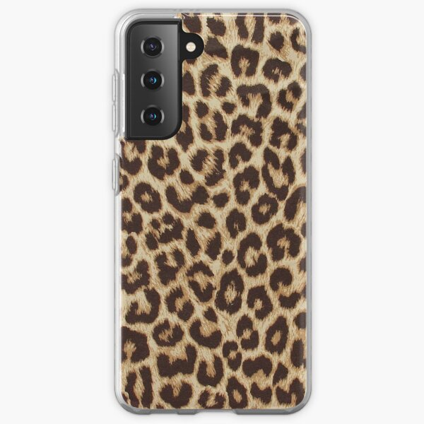 Leopard Print Samsung Galaxy Soft Case