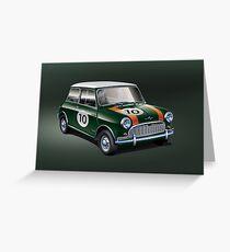Mini green Greeting Card