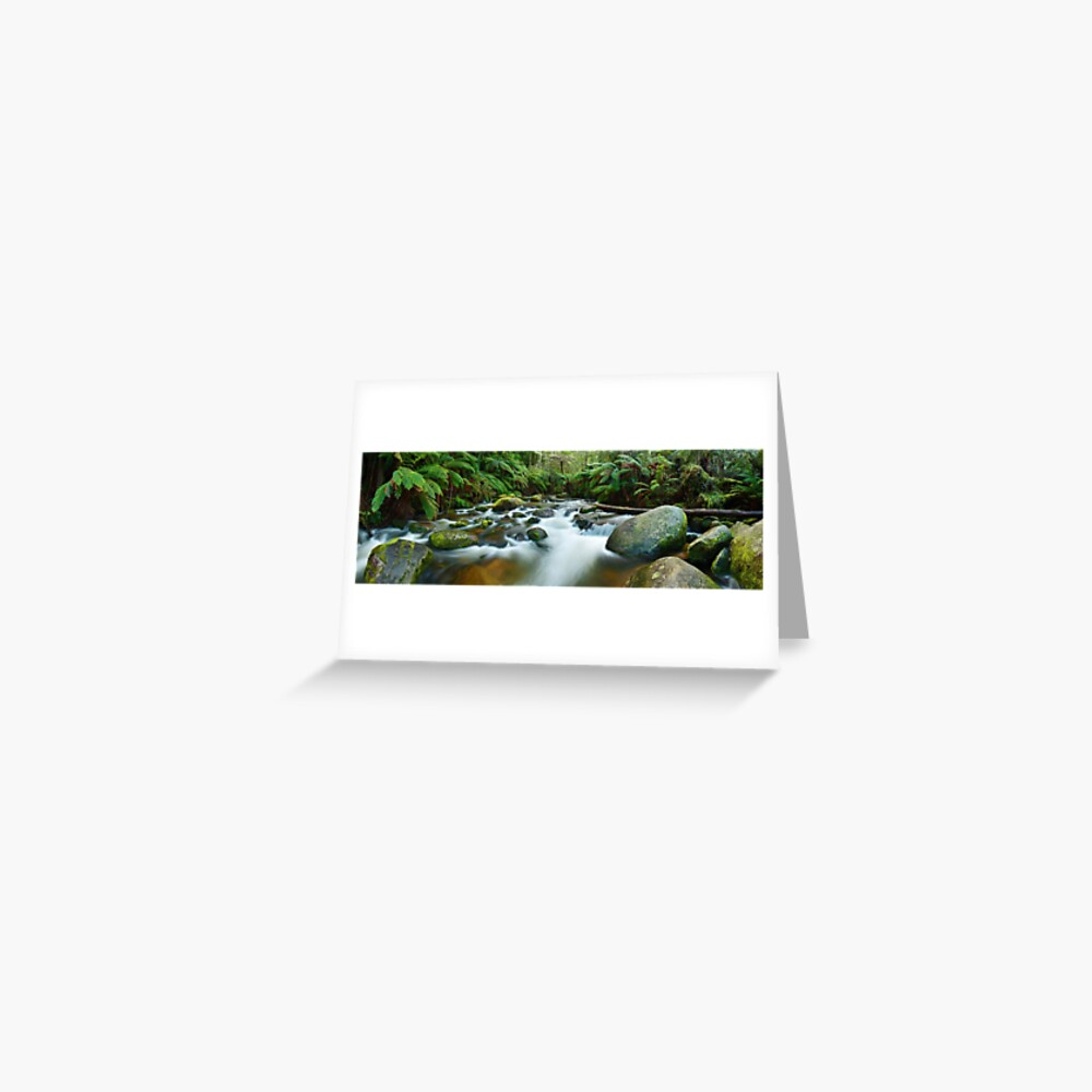 Toorongo River, Gippsland, Victoria, Australia Greeting Card