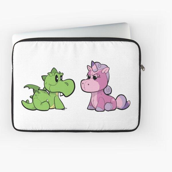 Dragon and Unicorn Laptop Sleeve