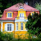 Yellow Villa in Ziegelwies by ©The Creative  Minds
