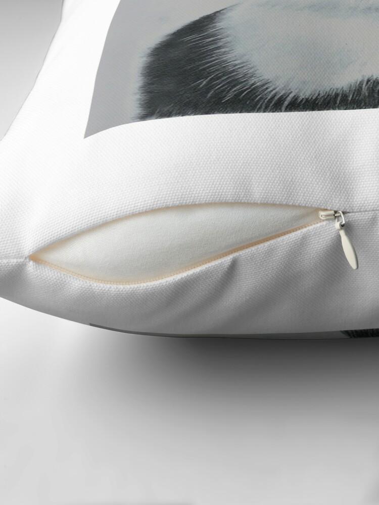 Alternate view of Ozzy Superstar Throw Pillow