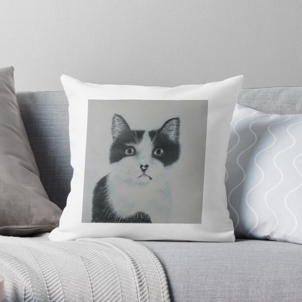 Ozzy Superstar Throw Pillow