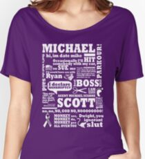 Michael Scott Women's Relaxed Fit T-Shirt