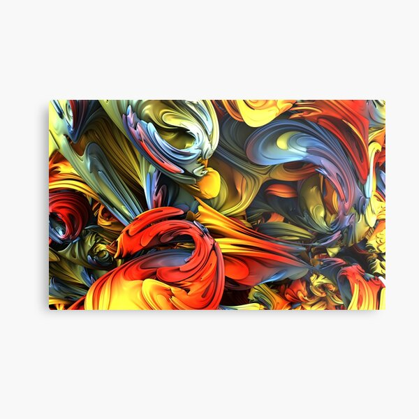 The Wonder Wall Metal Print