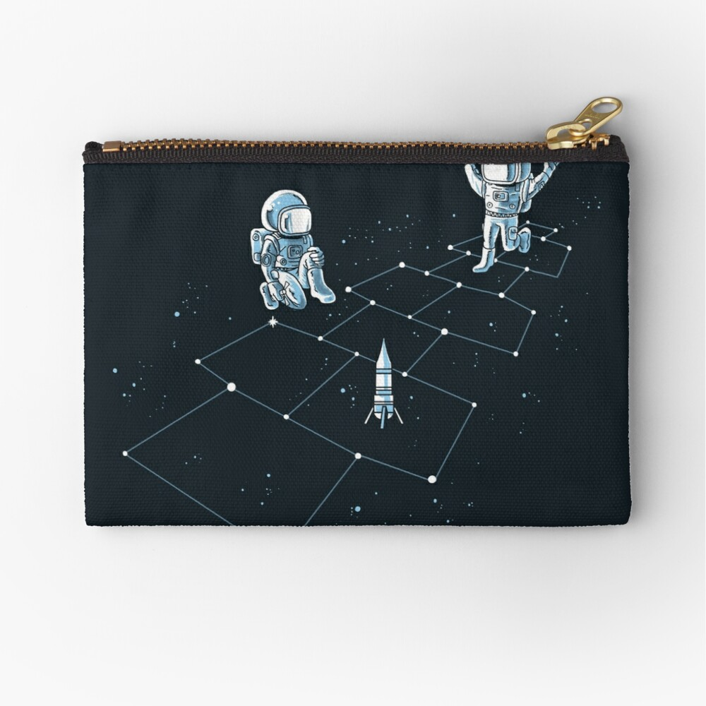 Hopscotch Astronauts Zipper Pouch