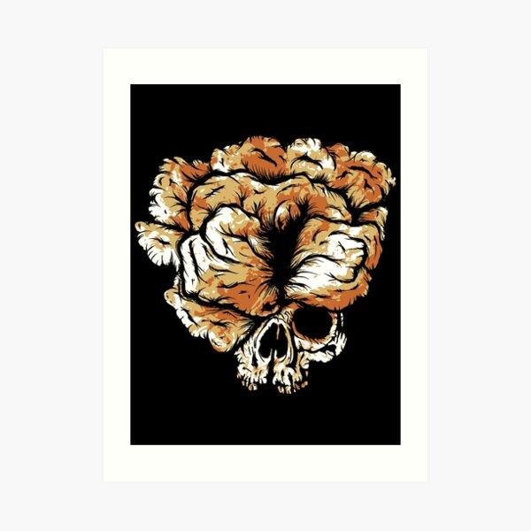 Clicker Skull - The Last of Us Art Print