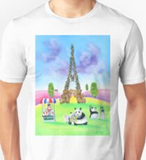 The Eiffel tower made of sheep Unisex T-Shirt